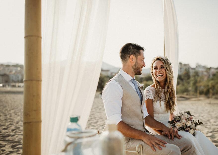 Os melhores penteados de noiva para um casamento na praia: descomplique!