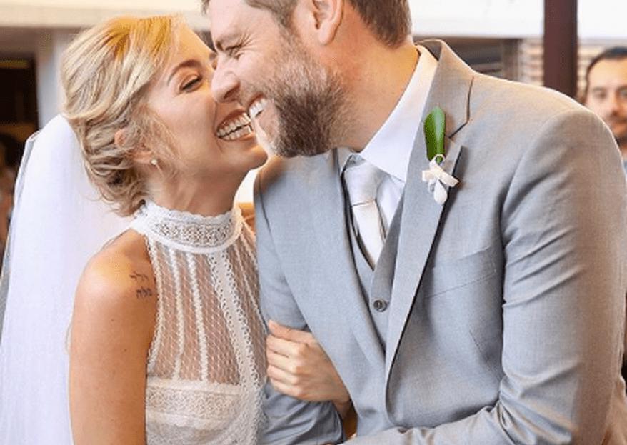 Luiza Possi se casa com Cris Gomes em cerimônia íntima: confira todos os detalhes