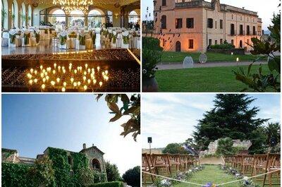 Las 11 mejores masías para bodas en Barcelona