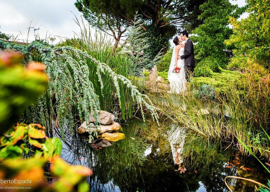 Finca los Olivos: déjate enamorar con una boda celebrada en un viñedo de la sierra madrileña