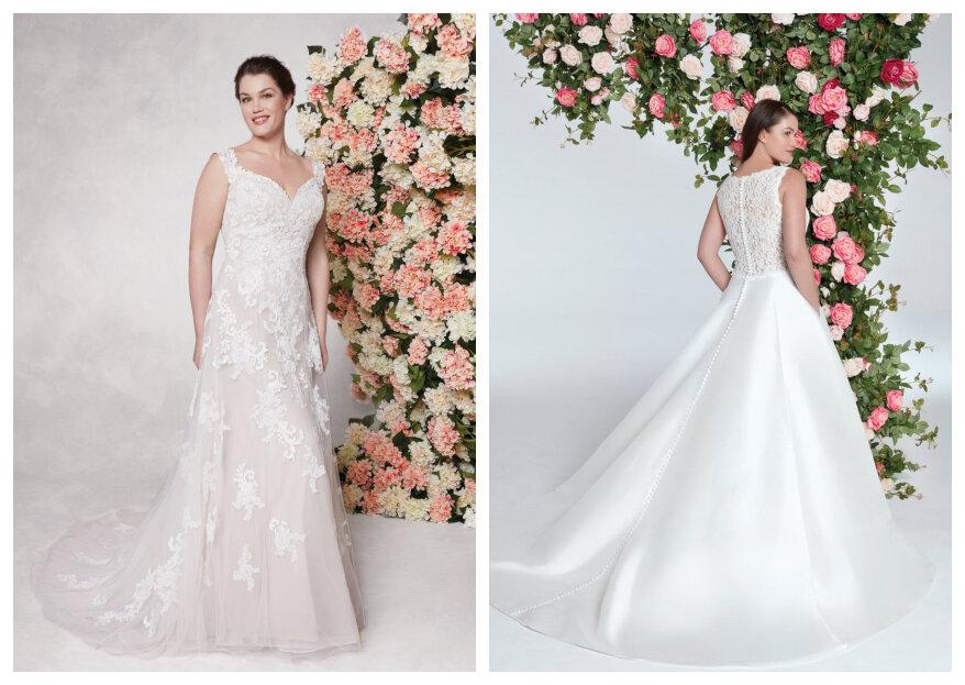 Sincerity Bridal en Sweetheart Gowns Collecties: prachtige jurken voor bruiden van alle soorten en maten!