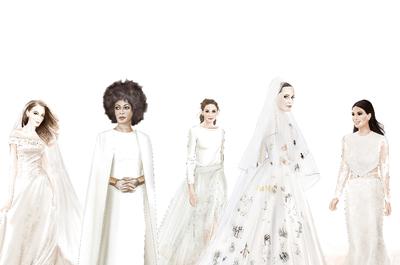 Os 8 vestidos de noiva mais FAMOSOS e impressionantes dos últimos tempos!