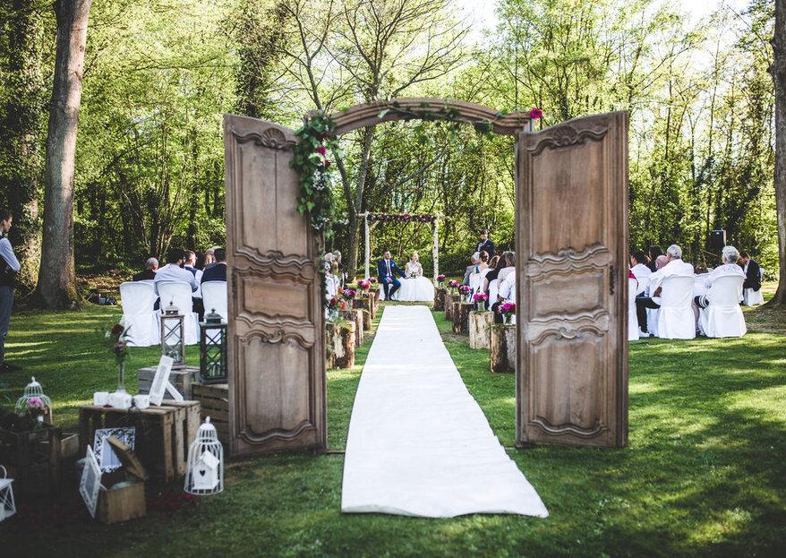 Des lieux atypiques pour un mariage hors du commun
