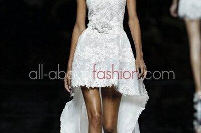 Romantisch bestickte Brautkleider aus der Kollektion 2013