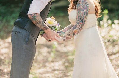 O charme das tatuagens: elas casam convosco!