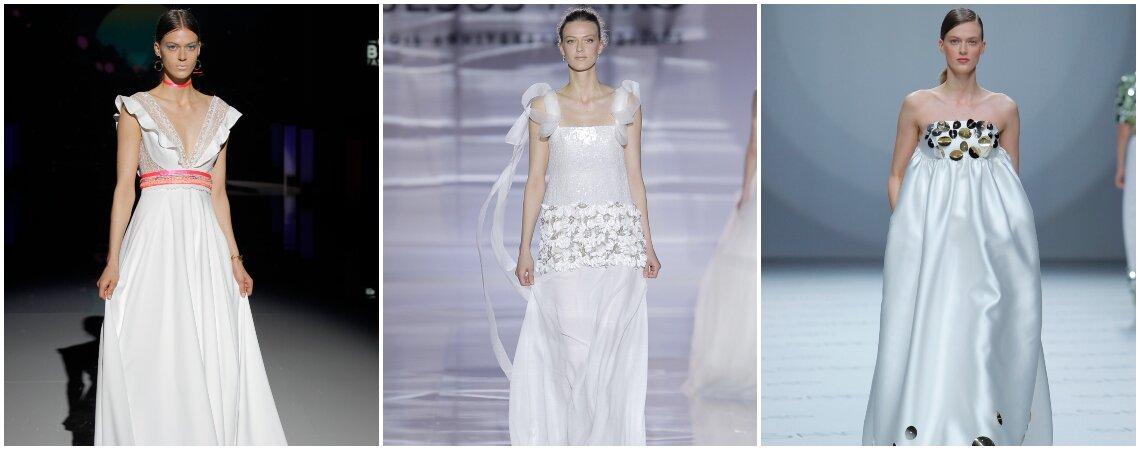 Más de 20 vestidos de novia corte imperio. ¡Enamora con estos hermosos diseños!