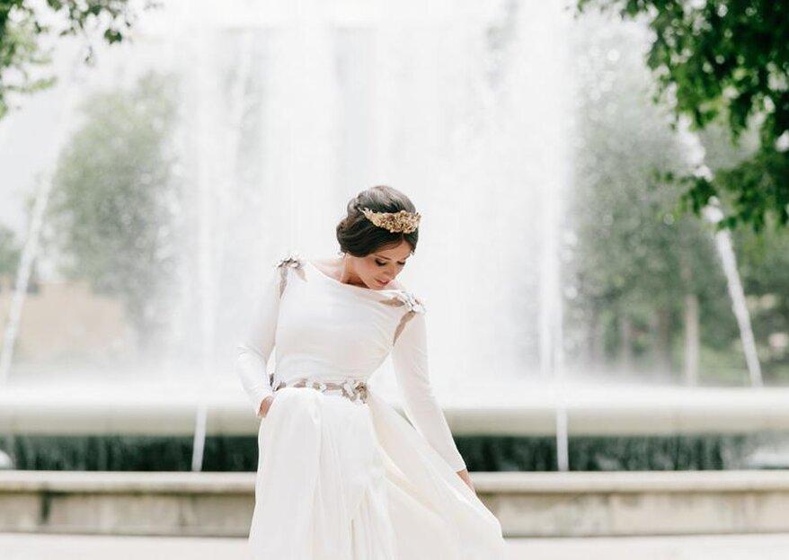 Cómo guardar el vestido de novia para siempre