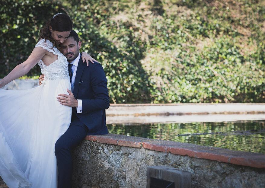 Una gran fiesta que celebraron por todo lo alto: la boda de Xenia y José