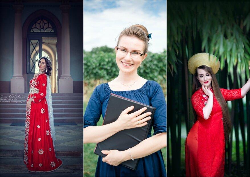 13 Hochzeitskleider dieser Welt – zwischen Tradition, Moderne, kultureller Identität und dem Ideal der Medien