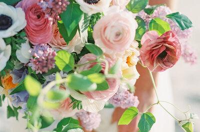 Las flores más exclusivas para boda: ¡Máximo encanto!