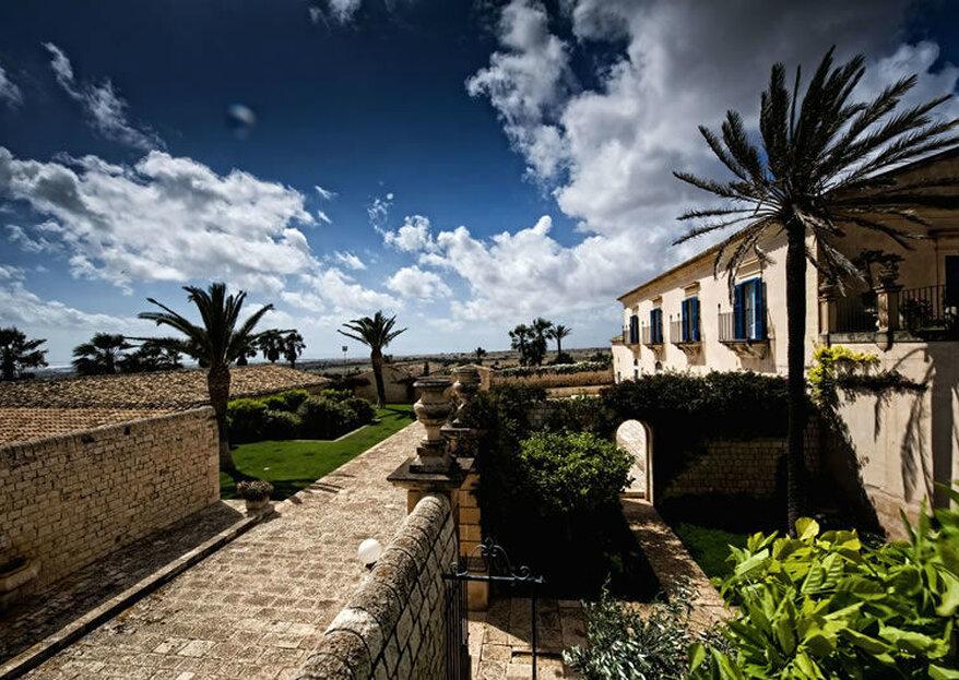 Villa Criscione creerà per voi l'atmosfera magica che desiderate per le vostre nozze...