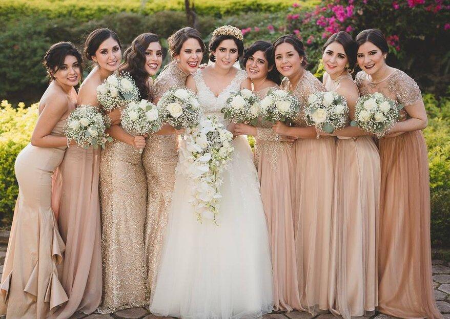 Las 10 responsabilidades más importantes de las damas de boda