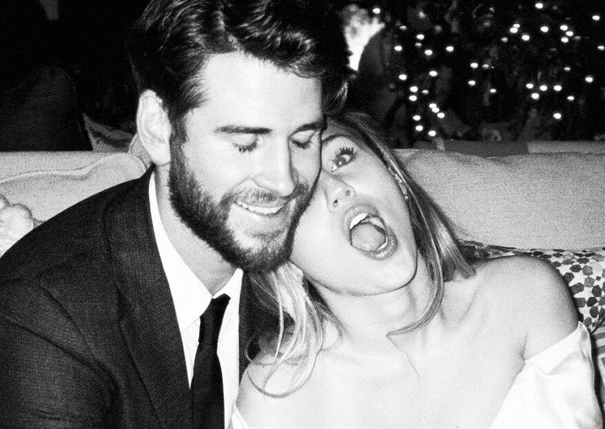 Miley Cyrus partage les photos inédites de son mariage avec Liam Hemsworth !