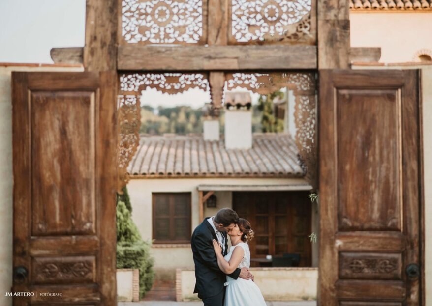 Una boda en Masía Durbá es un regalo para los amantes de la naturaleza, la historia y el relax