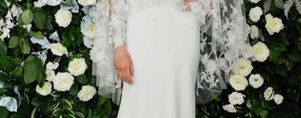 Sehen Sie hier die schönsten Brautkleider mit Illusions-Ausschnitt: Sexy und elegant zugleich!