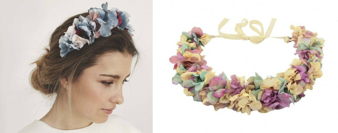 Floral Crowns: Bohemian Inspiration for Modern Brides