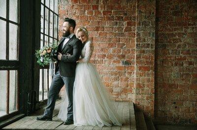Весенняя свадебная фотосессия Fine Art в нежной цветовой гамме