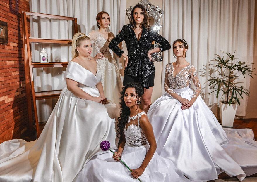 Atelier Nathalia Marques: vestidos de noiva feitos sob medida ou prontos para usar com muita personalidade e a assinatura inigualável da estilista