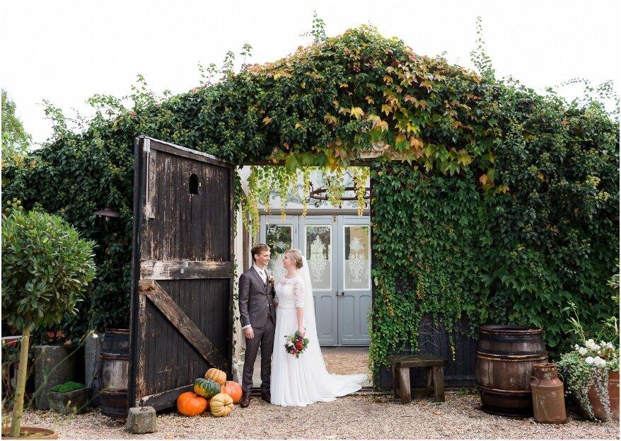 Real Wedding: proef het najaar met deze herfstbruiloft!
