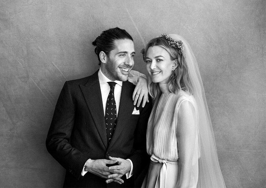 Quase um ano após o casamento, a boa notícia: Marta Ortega e Carlos Torretta esperam o seu primeiro filho!