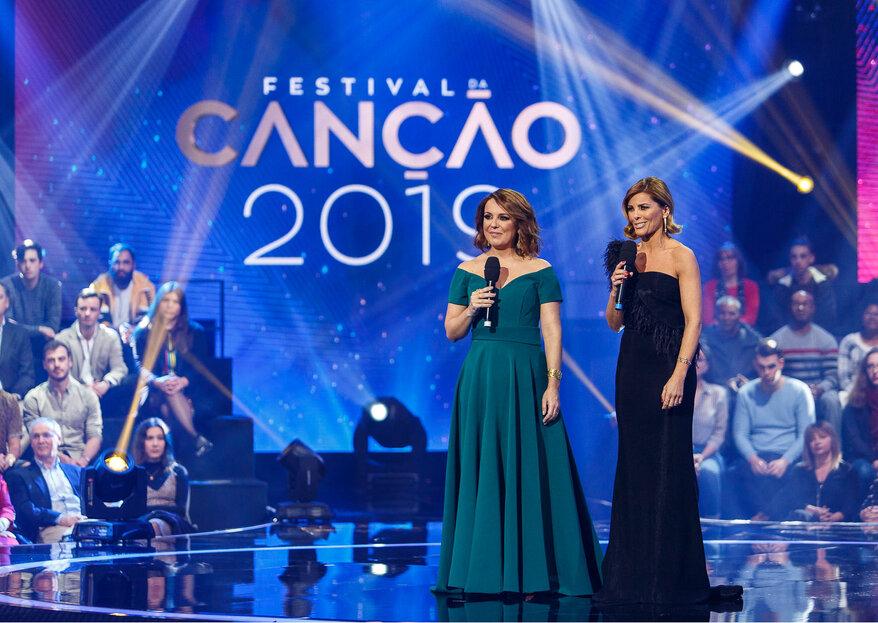 Os looks que brilharam no palco da primeira semifinal do Festival da Canção 2019