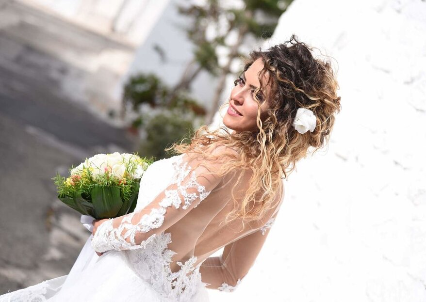 Michela Roberti Spose will highlight your natural beauty, creating the perfect look for you!