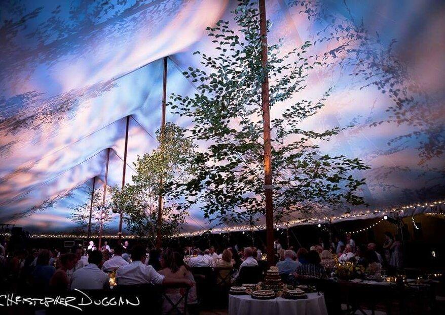 ¡Decídete por Carpatez!: una ambientación mágica e impactante para tu boda