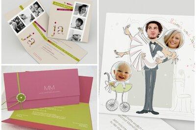 Kreative Hochzeitskarten – so schön können Einladungen sein