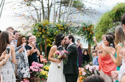 Casamento ao ar livre de Júlia & Marcello: um Destination Wedding cheio de leveza em Ilhabela!