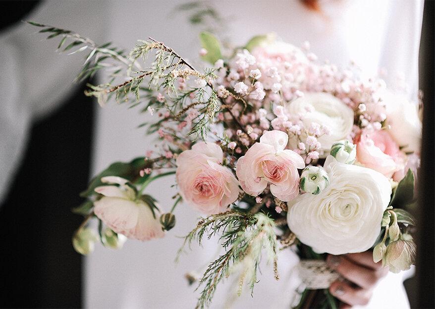 As 12 melhores flores para decorar o seu casamento, a sua casa e a sua vida!