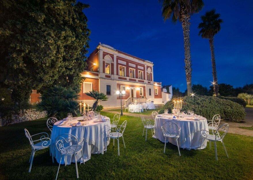 Distinguetevi dal resto, optate per una location ricca di dettagli particolari per impressionare i vostri ospiti
