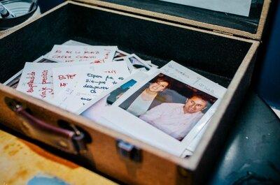 Cápsulas del tiempo fotográficas. Recoge los deseos de tus invitados