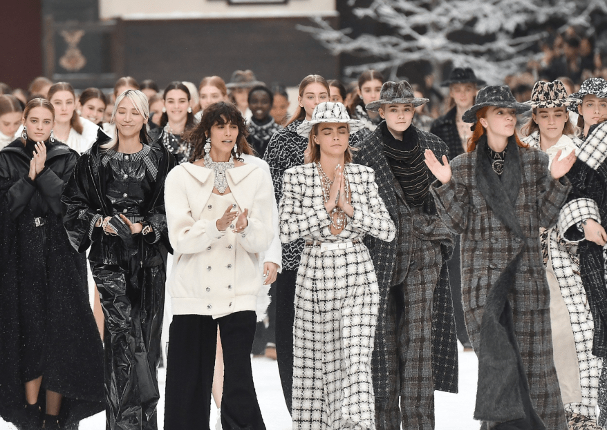 Die Chanel-Show in Paris - Tränen bei der Präsentation von Lagerfelds letzter Kollektion!