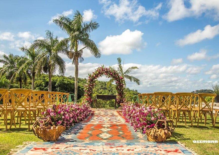 Jardins Independência: seu amor celebrado em um espaço contemporâneo integrado à natureza