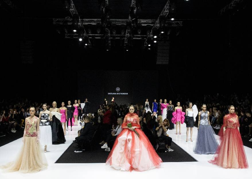 Показ Дома Моды Svetlana Evstigneeva SS 2020 в рамках Moscow Fashion Week Russia