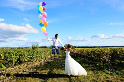 Alexandre et Laetitia : un mariage champêtre chic à la décoration rose tendre et vert délicat