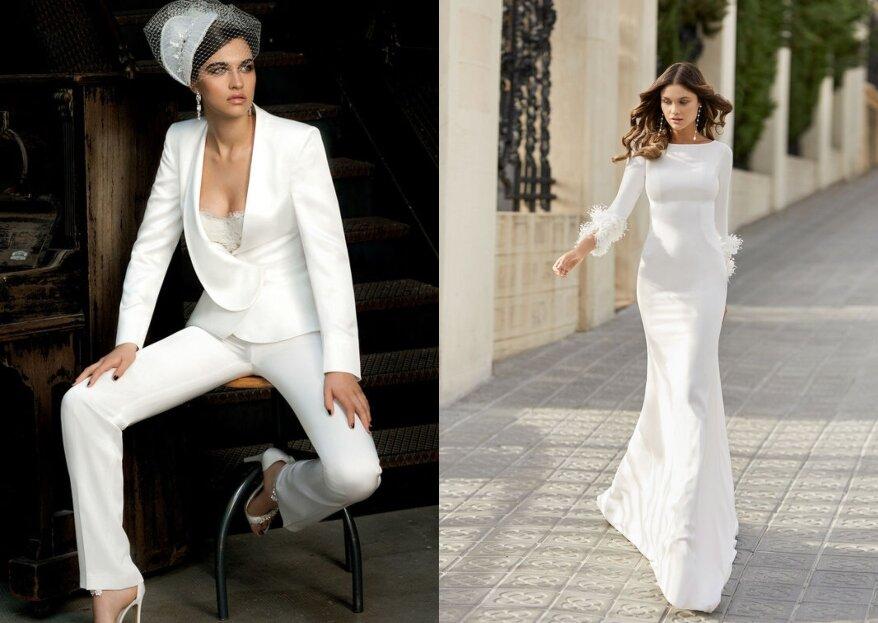 The Woman in White veste la sposa perfetta