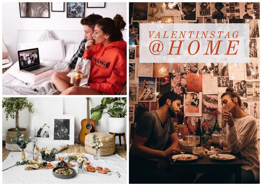 Valentinstag 2021 trotz Corona: tolle Ideen für zu Hause!