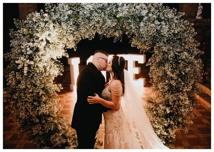 Casamento emocionante de Luiza e Bruno: um dia muito esperado pelos noivos e todos envolvidos.