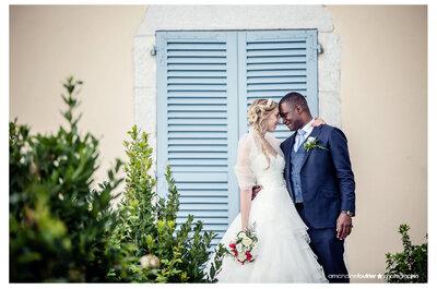 Augustin et Stéphanie : un mariage interculturel rempli d'amour et de respect en Haute-Savoie