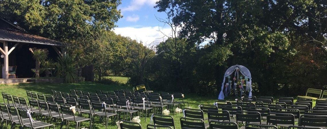 C'est Ici : LE lieu de réception romantique et atypique pour un mariage champêtre chic