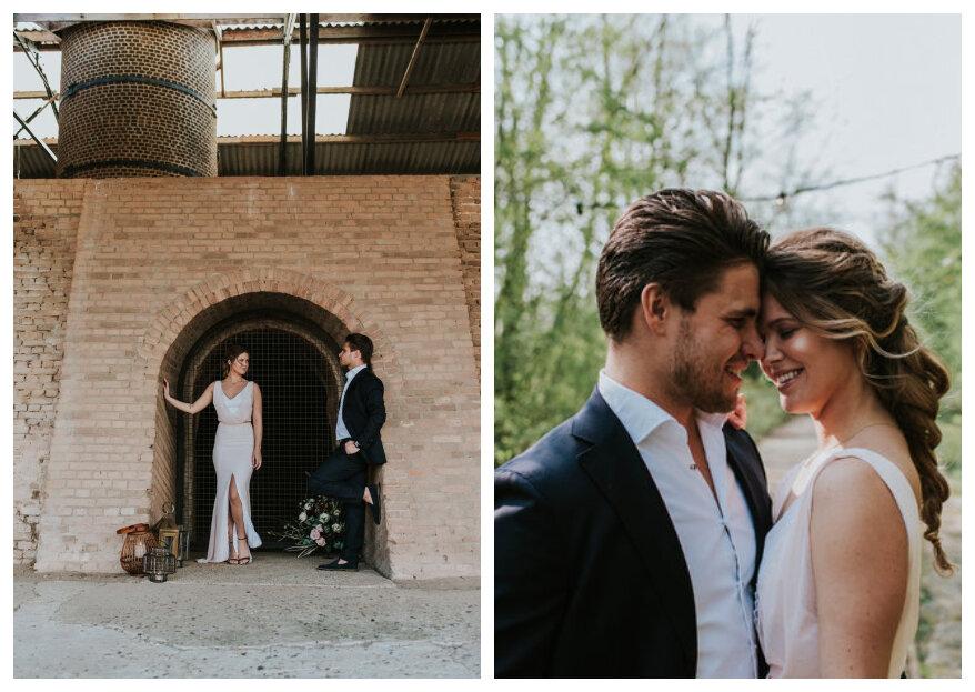 Industriële Styled Wedding Shoot: Robuust & Stoer!