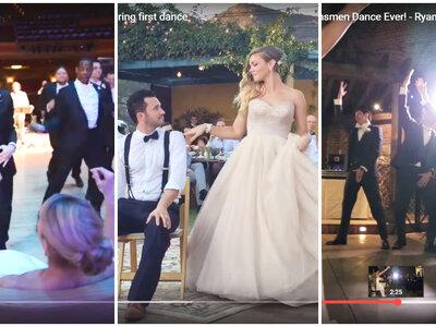 Las 6 coreografías de boda más emocionantes del 2015 ¡Atención a los movimientos!