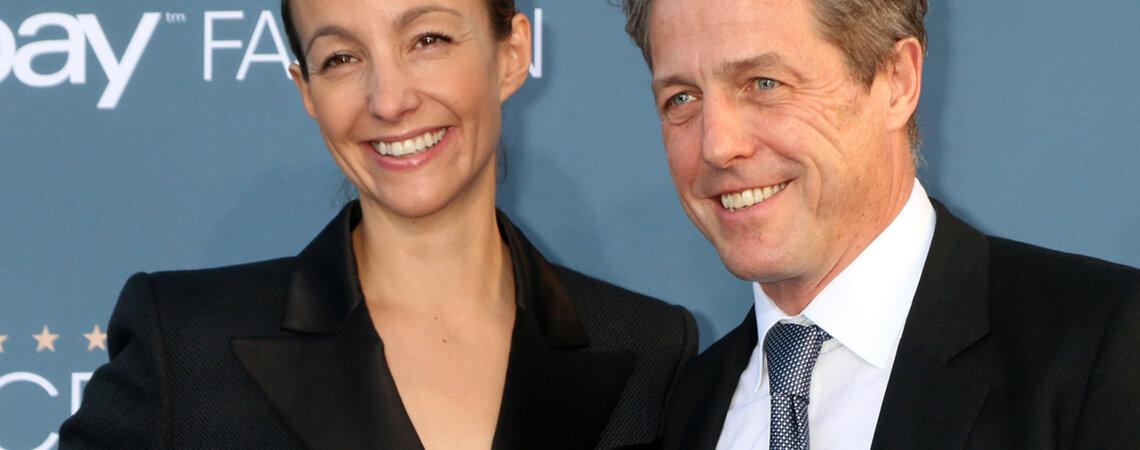 Hugh Grant Marries Anna Eberstein in Secret Wedding in London