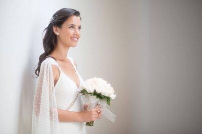 ¿Cómo elegir el peinado de novia perfecto?