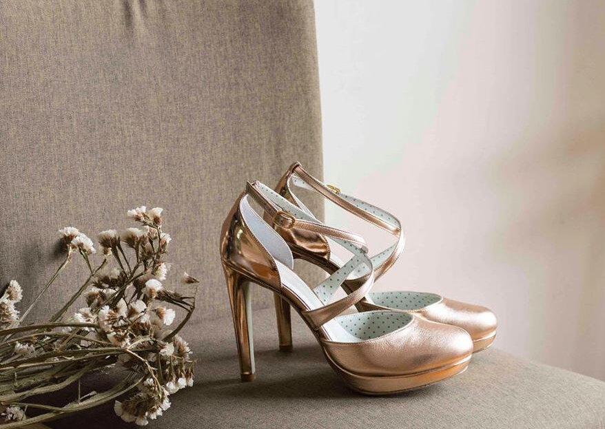 Sapatos de noiva por medida: um detalhe único para um dia especial