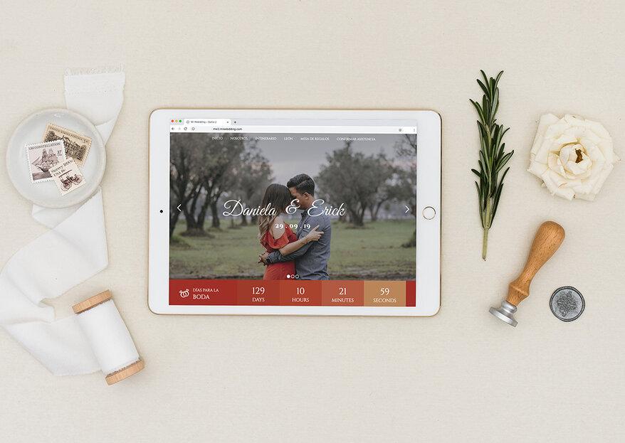 Mi Webdding: el concepto más innovador en invitaciones de boda digitales