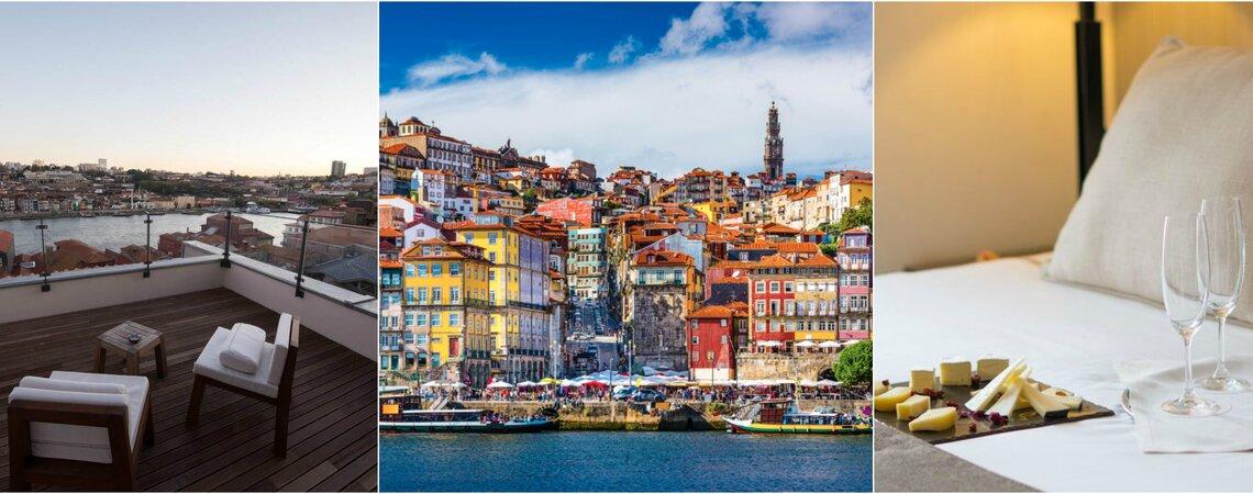 Nehmen Sie teil und gewinnen Sie eine Nacht im Hotel Carris Porto und kostenlose Tickets für das White Wedding Weekend!