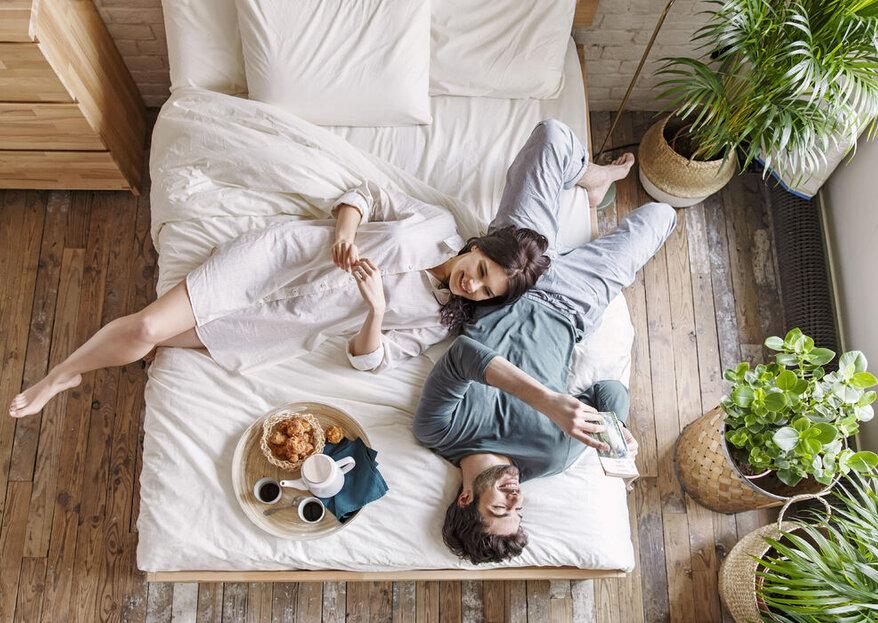 Das beste Hochzeitsgeschenk für jedes Brautpaar: Eine Kipli-Matratze