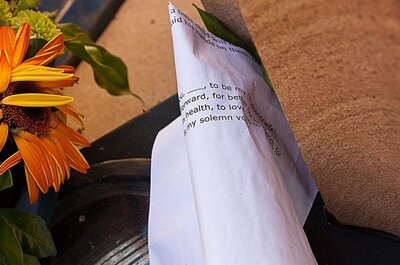 Ideias originais para escrever os votos de casamento